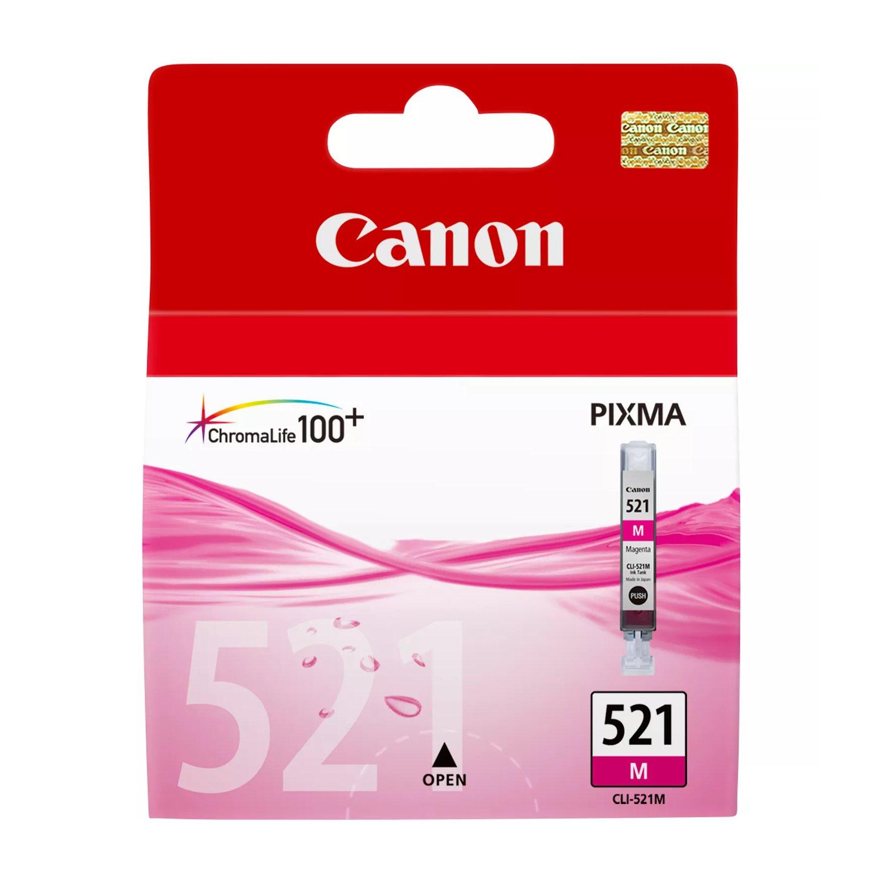 Canon No.521 Inkjet Cartridge Magenta CLI-521M