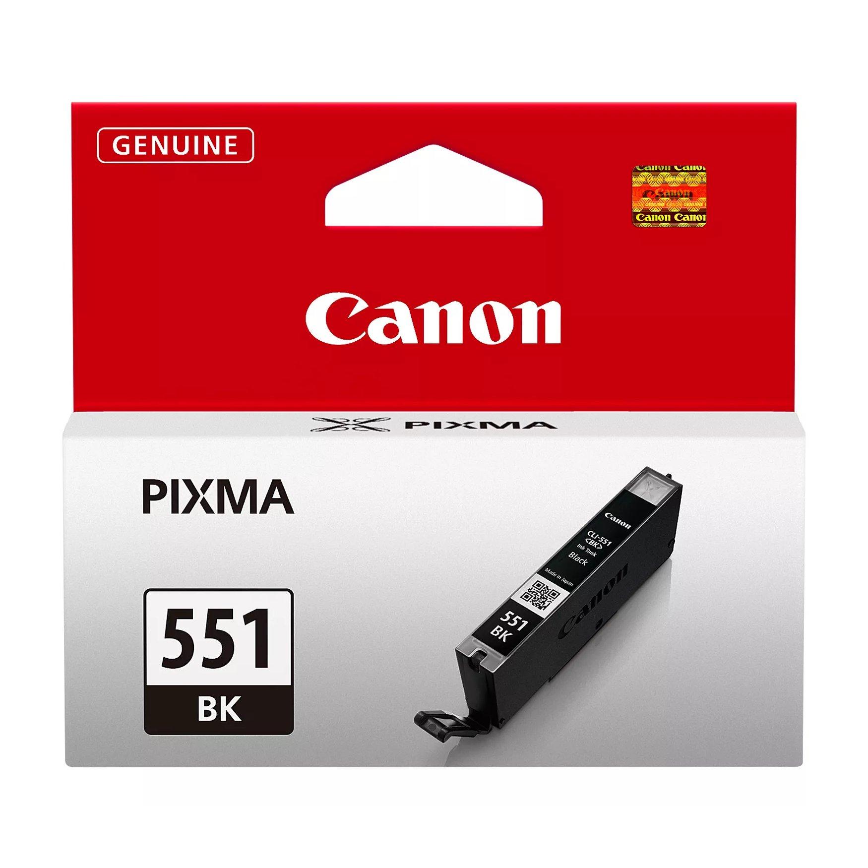 Canon No.551 Inkjet Cartridge Black CLI-551BK 6508B001