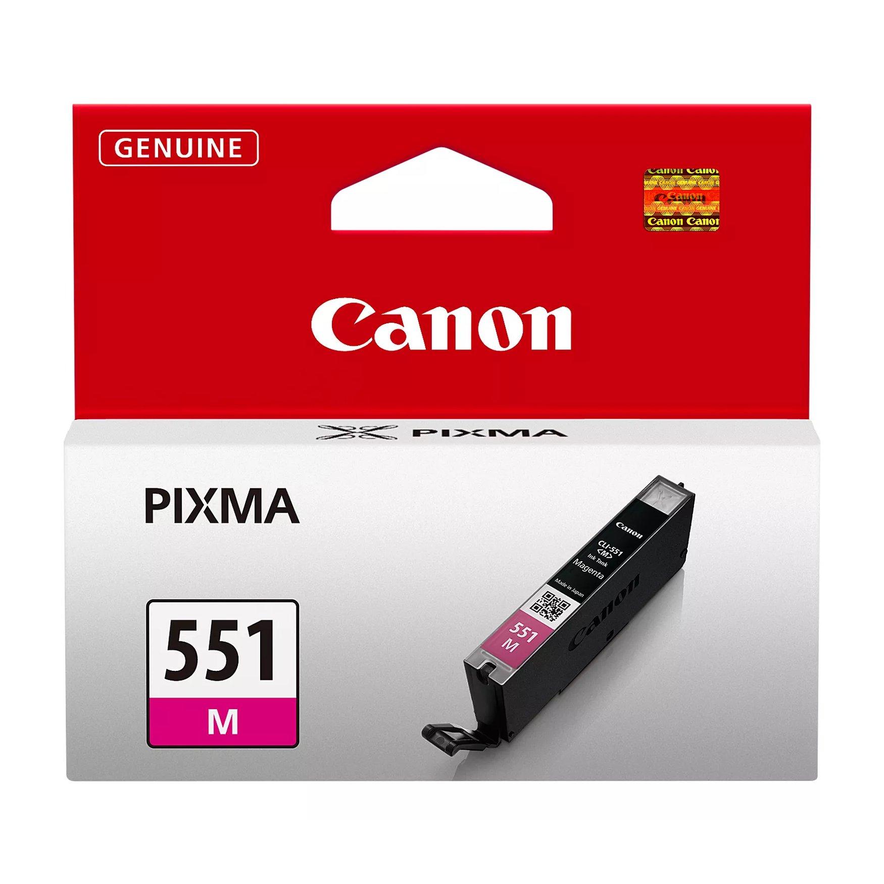 Canon No.551 Inkjet Cartridge Magenta CLI-551M 6510B001