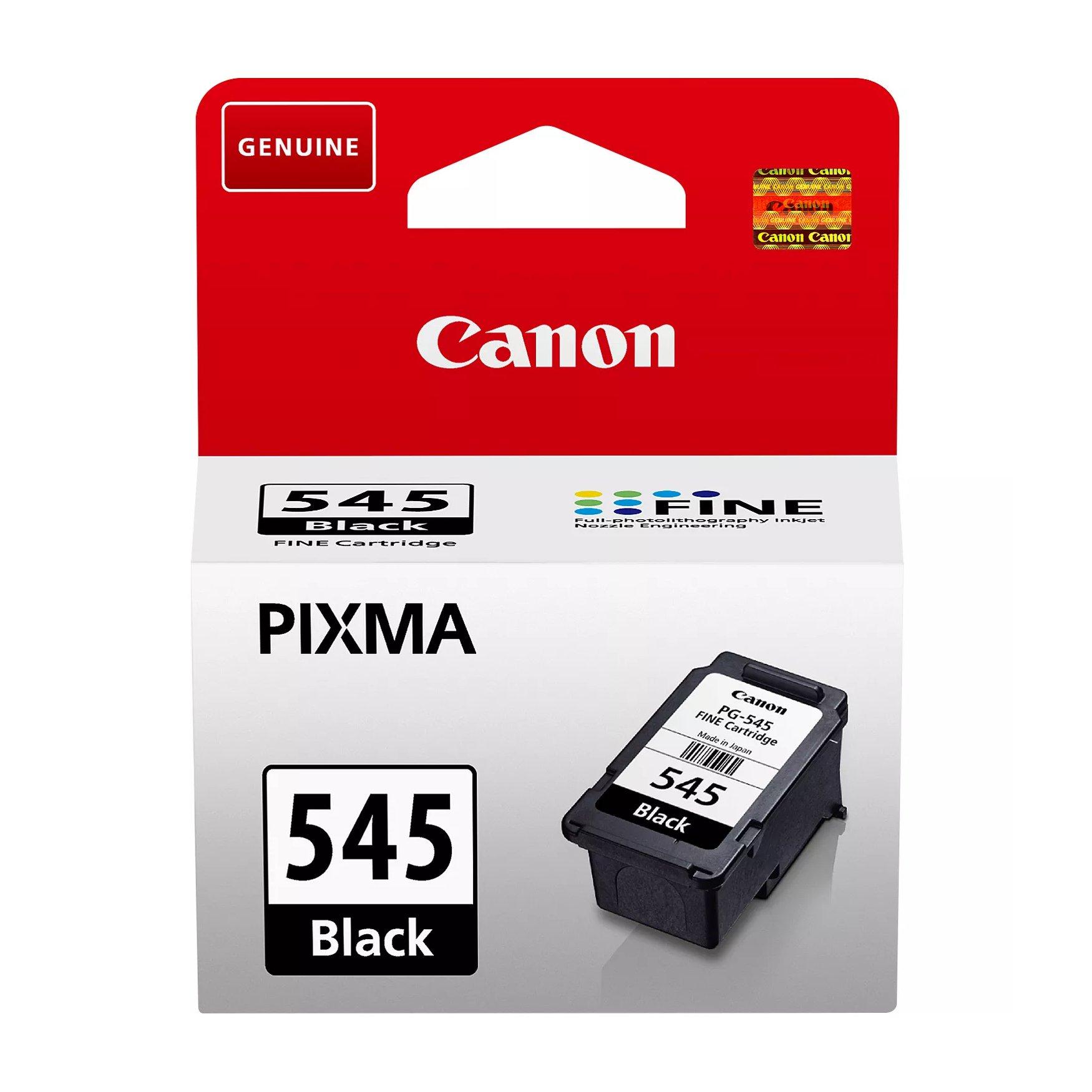 Canon No.545 Inkjet Cartridge Black PG-545 8287B001