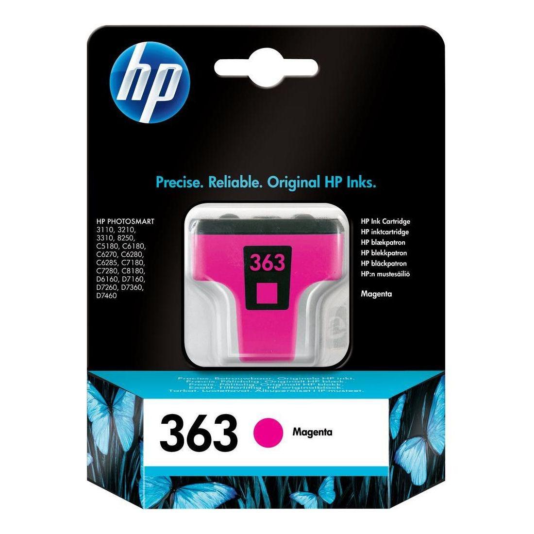 HP No.363 Inkjet Cartridge Magenta C8772EE