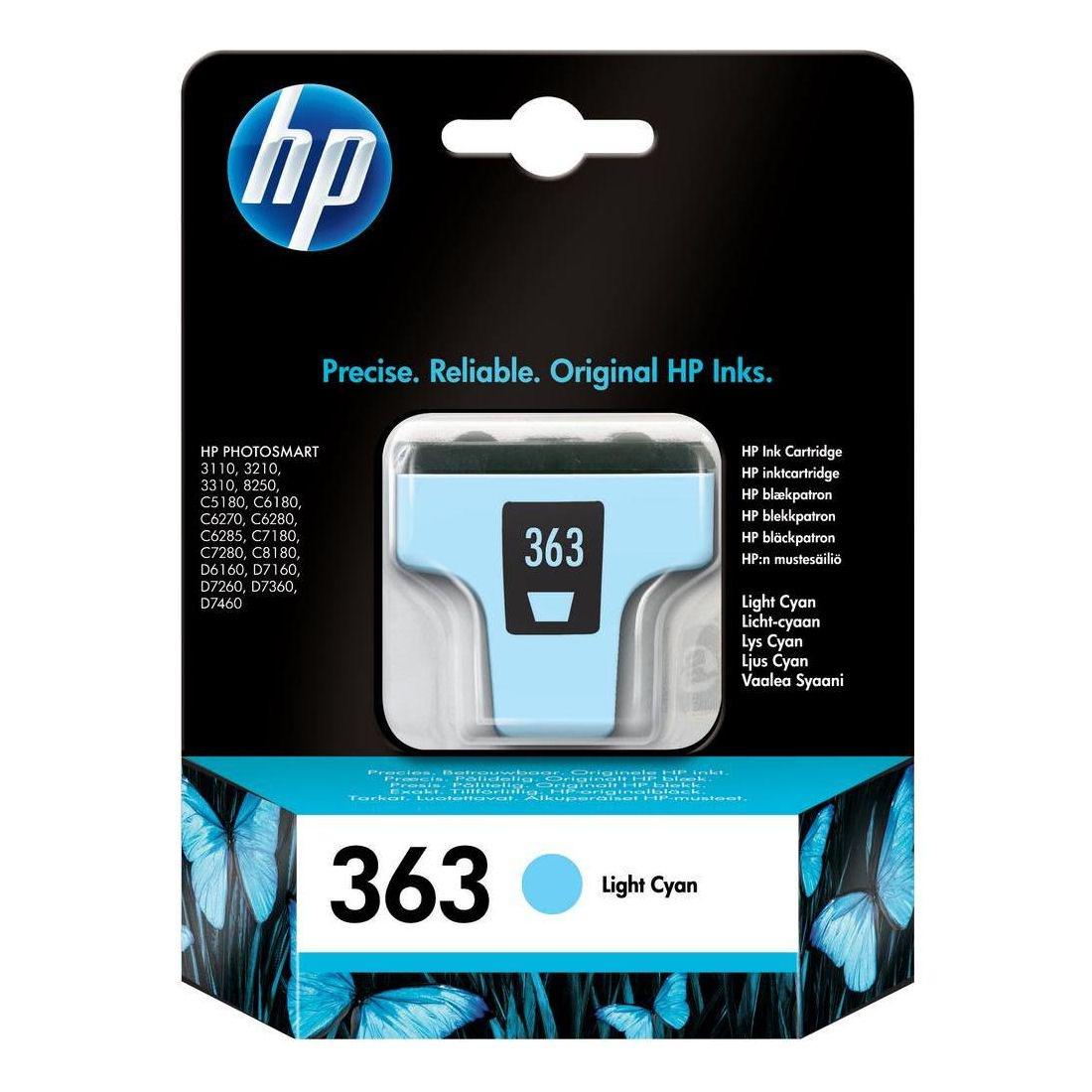HP No.363 Inkjet Cartridge Light Cyan C8774EE