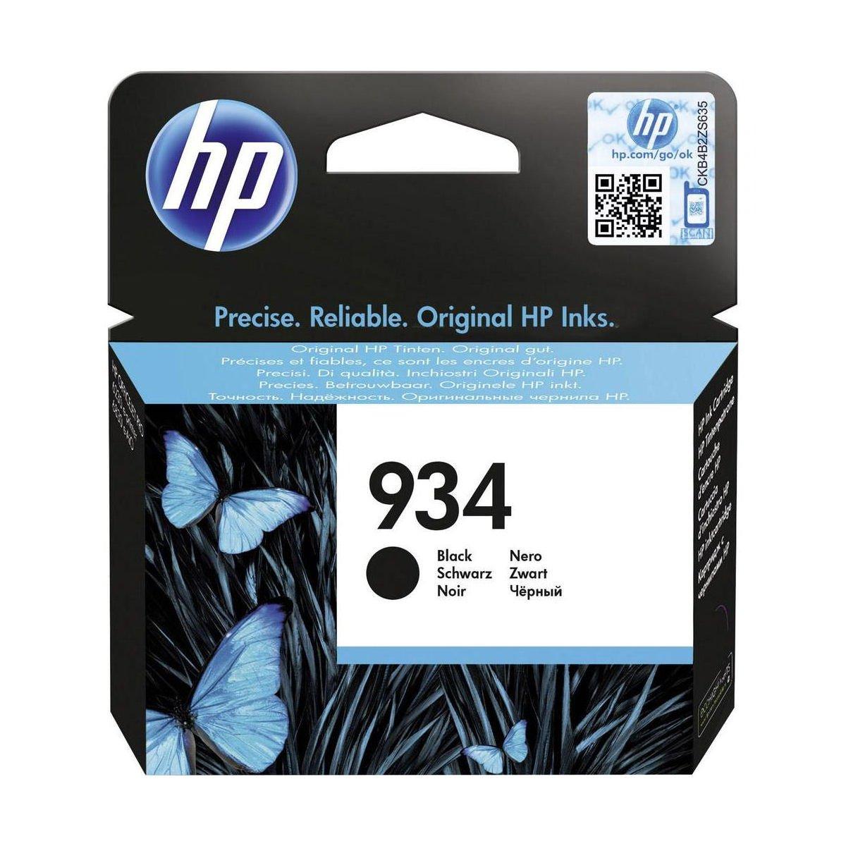 Hewlett Packard [HP] No. 934 Inkjet Cartridge Black Ref C2P19AE