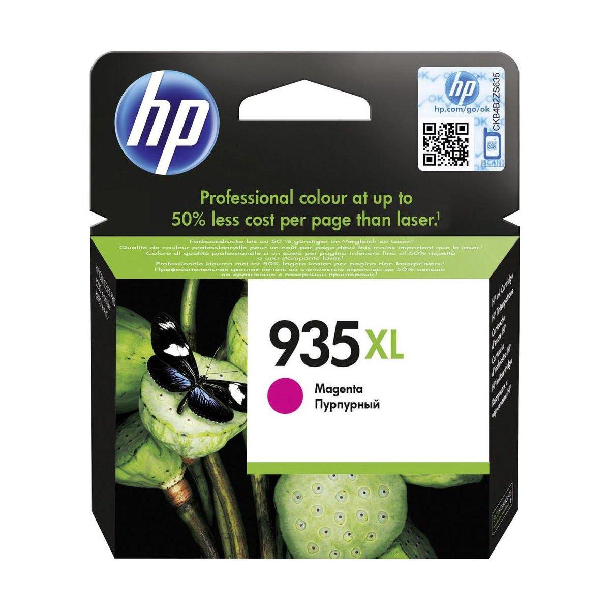 HP No.935XL Inkjet Cartridge High Capacity Magenta C2P25AE