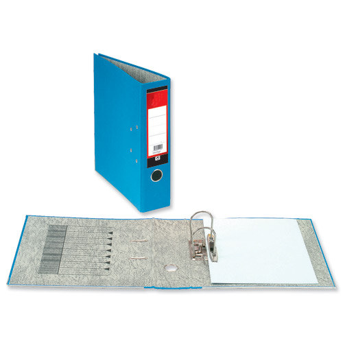 Value Lever Arch File A4 Blue