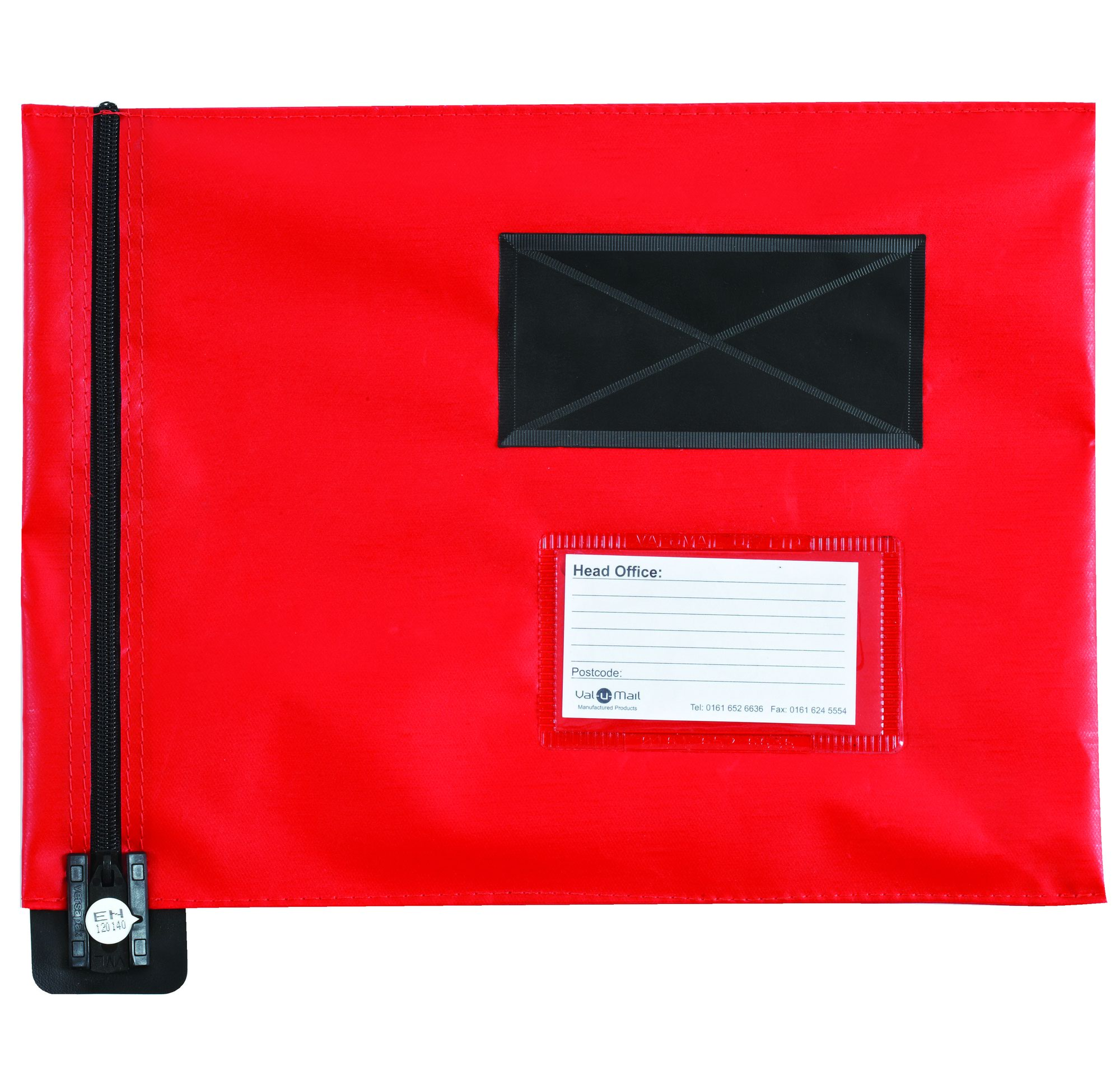 A4 Flat Mail Pouch 285mm x 345mm Red
