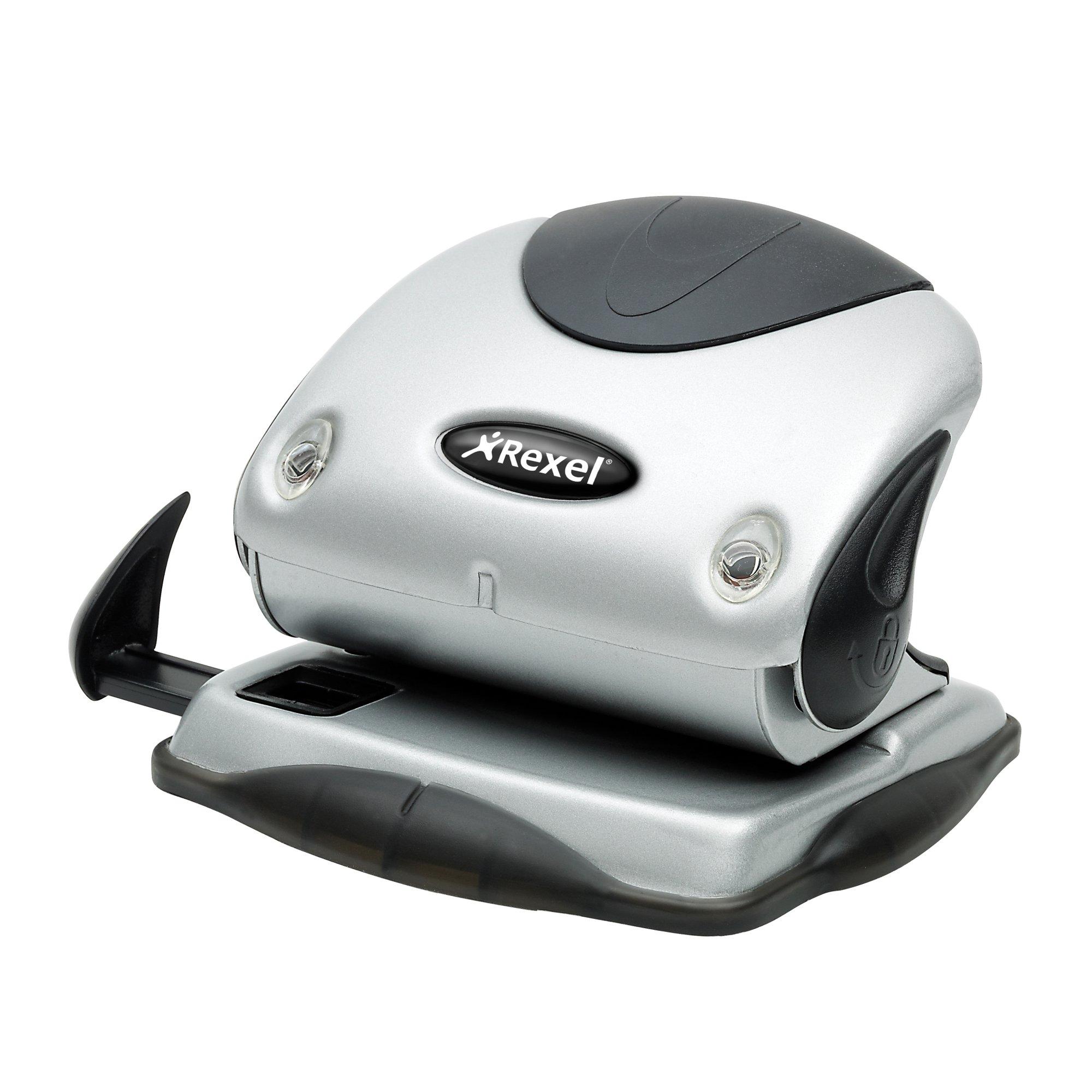 Rexel P240 Premium Punch Silver/Black 2100748