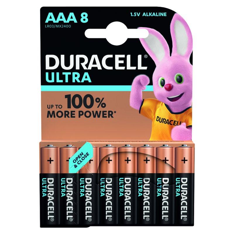 Duracell Ultra Power Battery AAA (8) 81417677