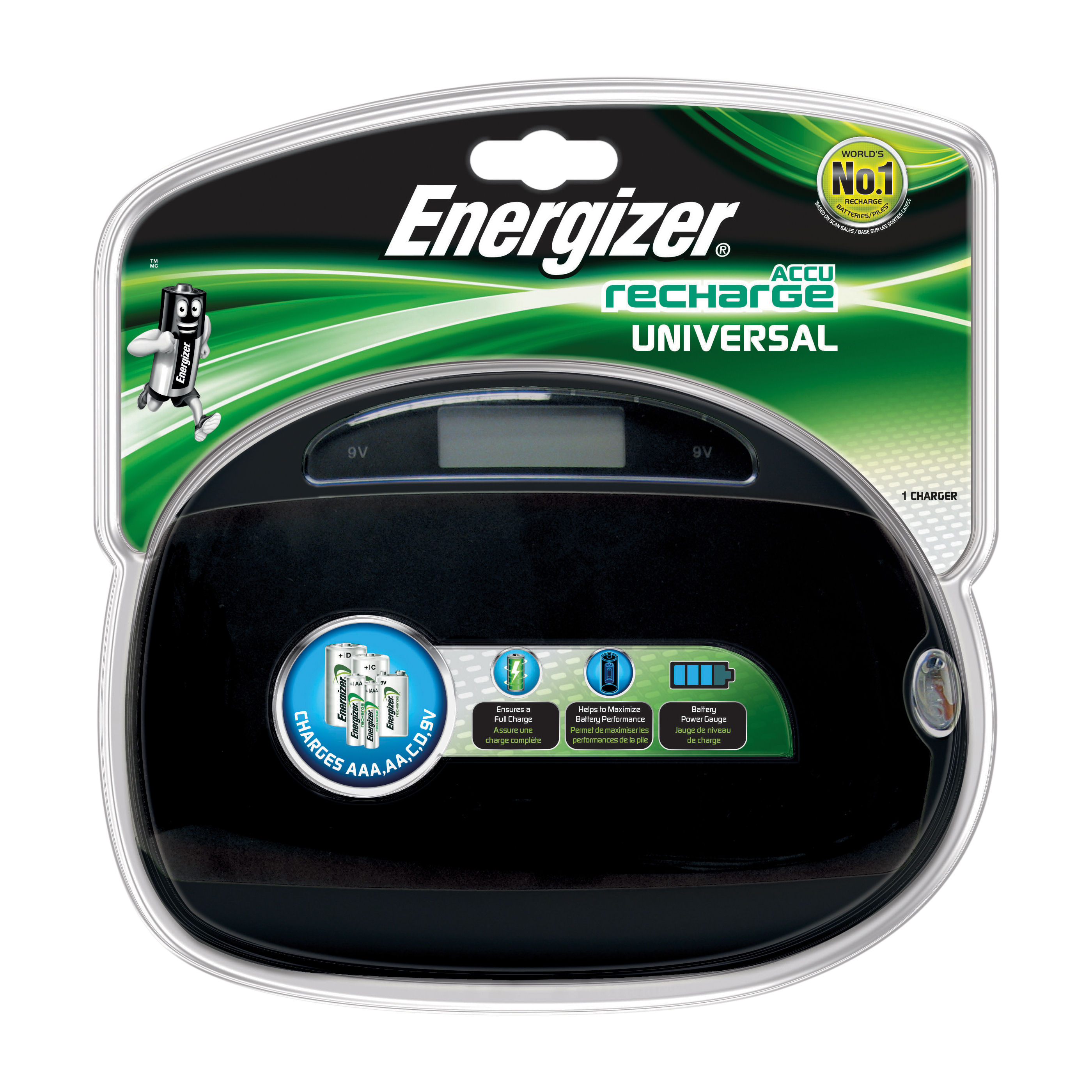 Energizer Universal Battery Charger 633156