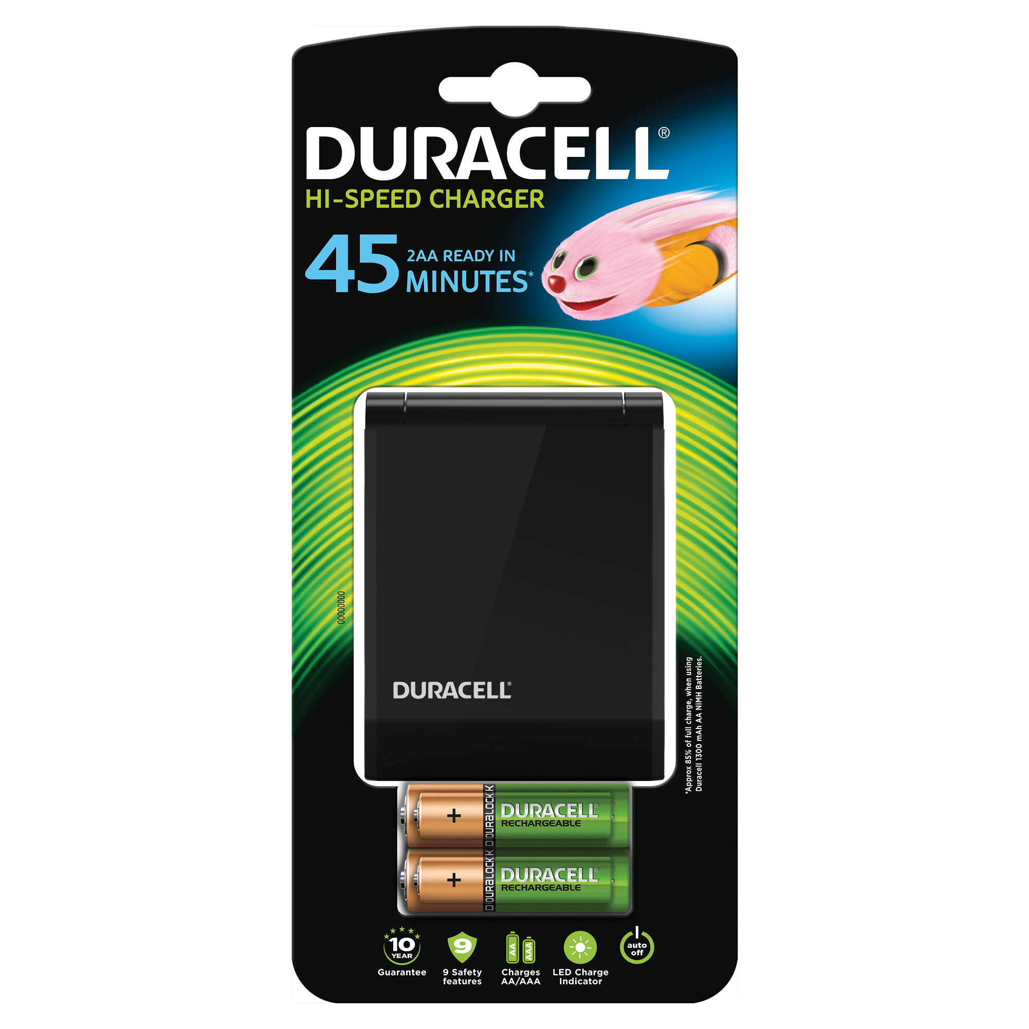 Image for Duracell 45 Minute Charger CEF27 81362494
