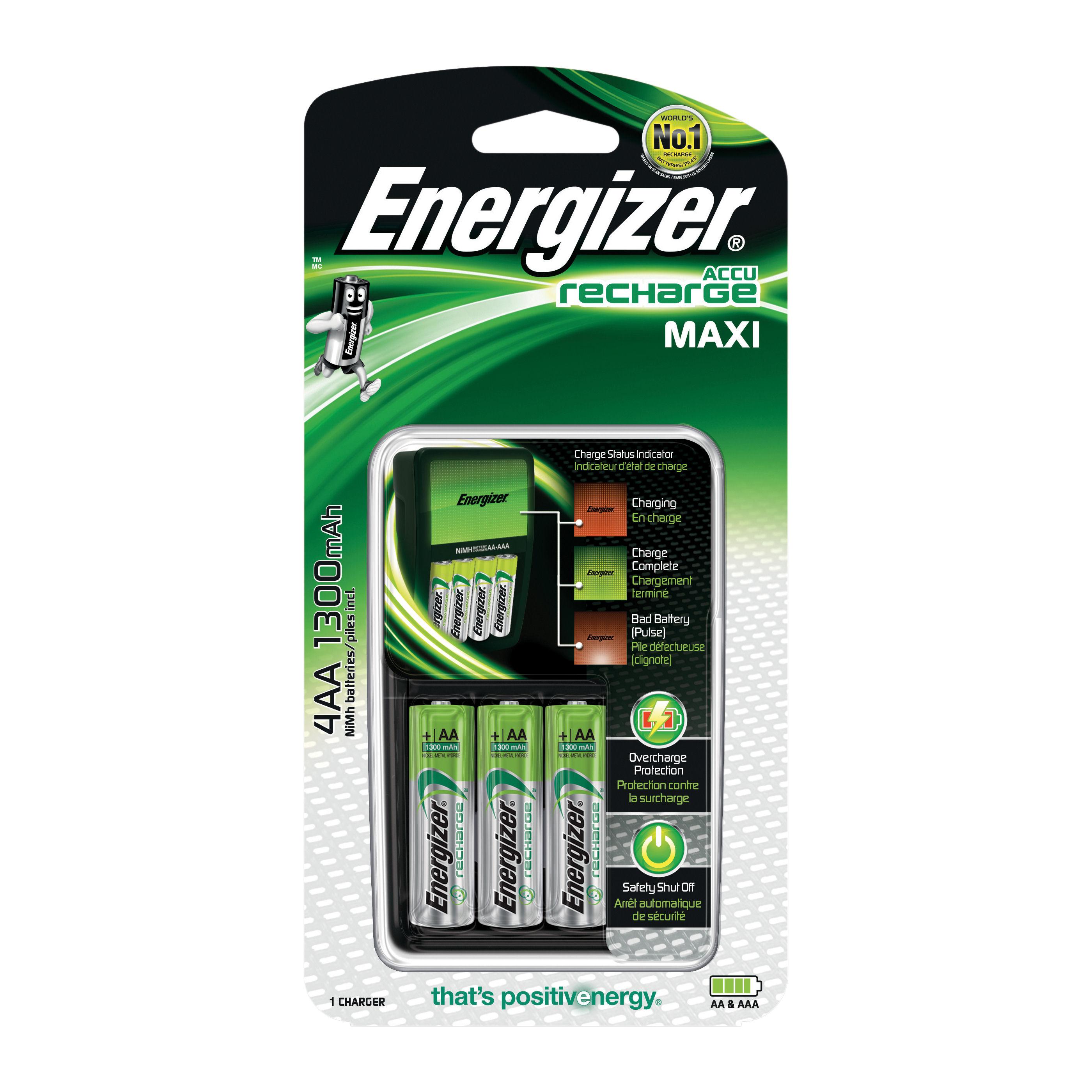 Energizer Maxi Charger 4xAA 635045