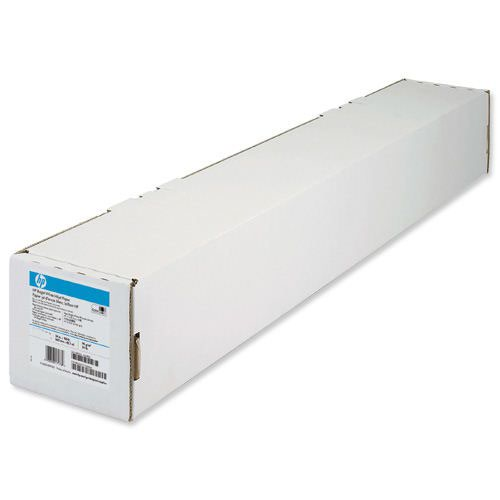 HP Bright White Inkjet Paper Roll 610mm x45.7m 90gsm C6035A