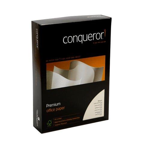 Conqueror Ultra Smooth CX22 Paper A4 Diamond White 100gsm (500) 26618