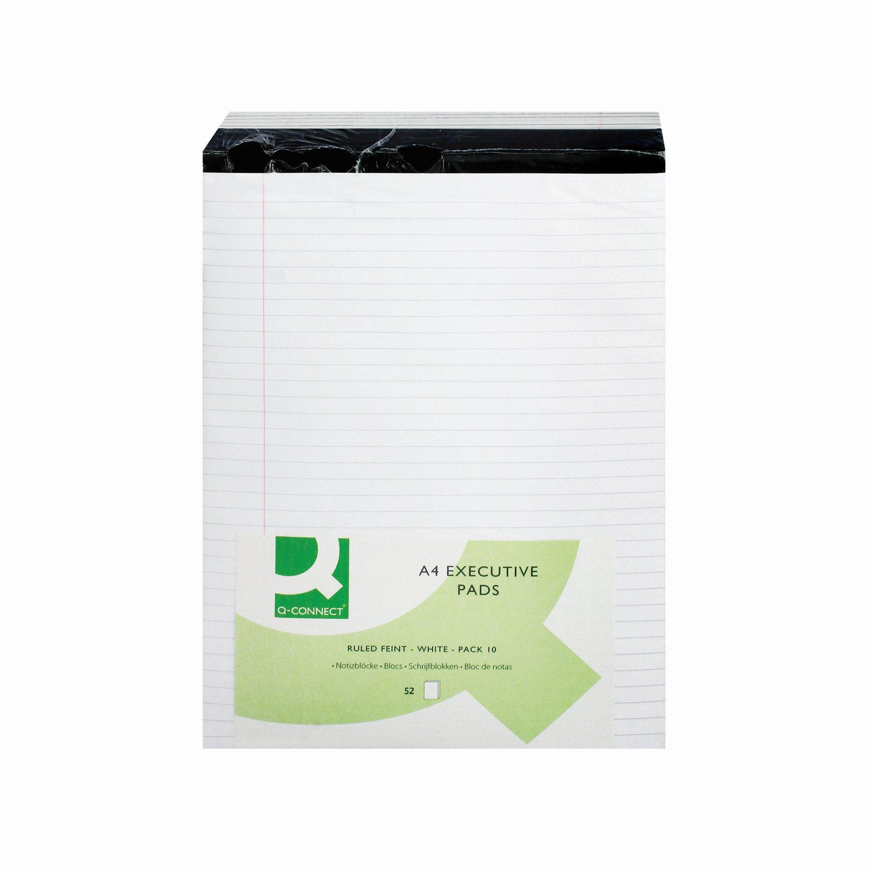 Value Executive Pad A4 White