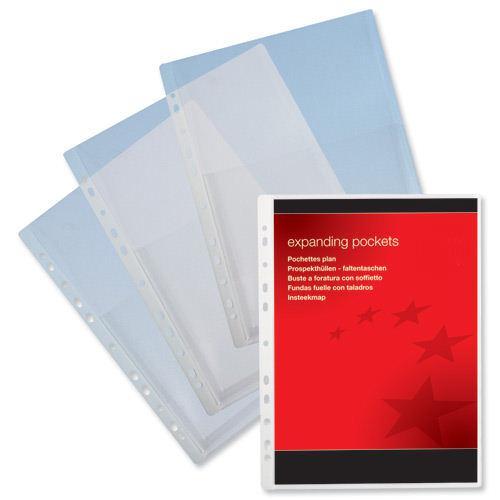 Value Plastic Expanding Pocket A4 (10)