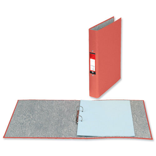 Value 2 Ring Binder A4 Red