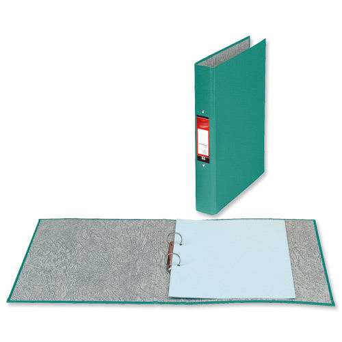 Value 2 Ring Binder A4 Green