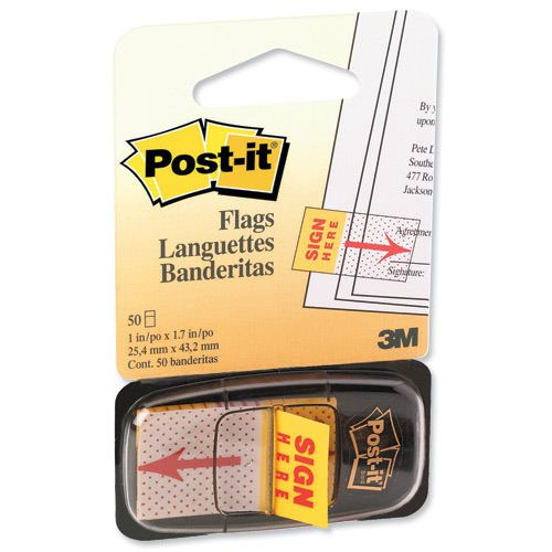 Image for Post-it Idx Sign Here Popup 680-31