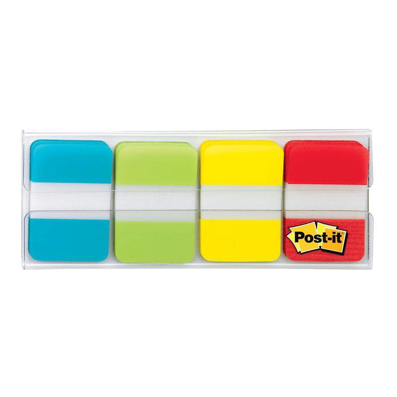 Image for 3M Post-it Strong Index Tabs 16mm (40) 676-AYPV