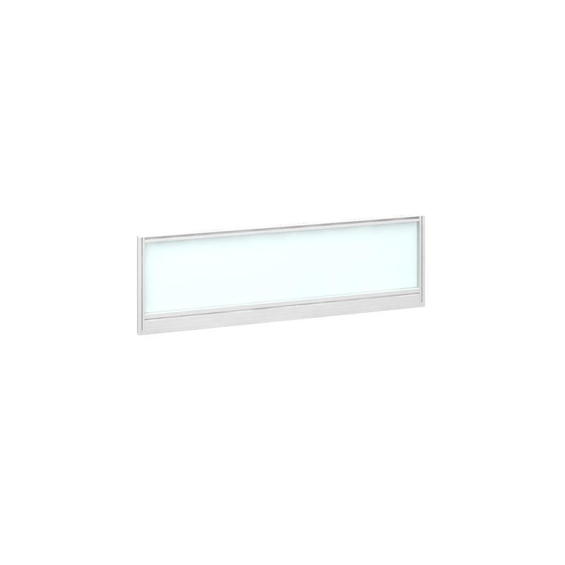 Image for Deluxe Glazed Screen 1200mm White Frame/White Glazing AG1200-WH-W
