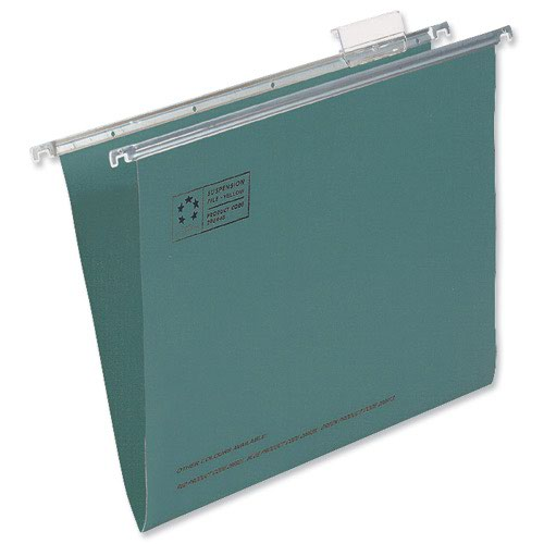 Value Suspension File Foolscap Green (50)