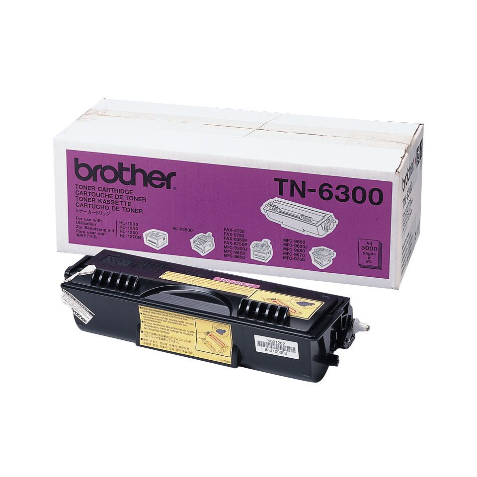 Brother Toner Cartridge Black TN6300