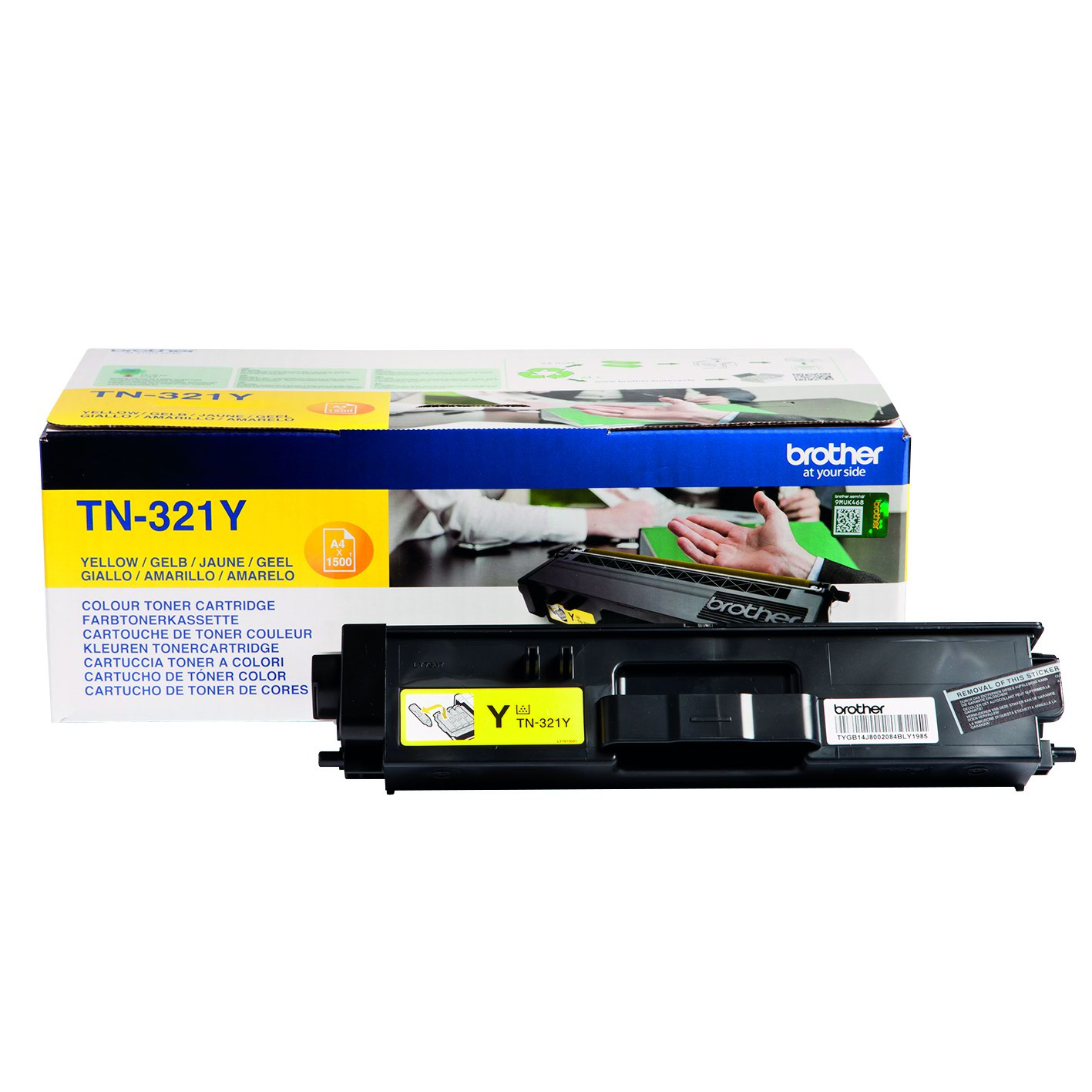 Brother Toner Cartridge Yellow TN321Y
