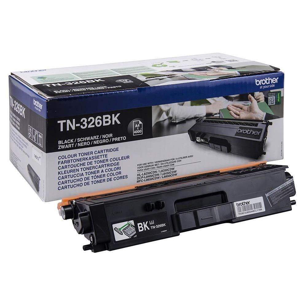 Brother Toner Cartridge High Capacity Black TN326BK