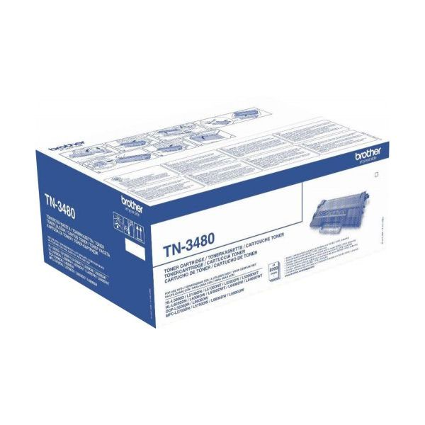 Brother Toner Cartridge High Capacity Black TN3480