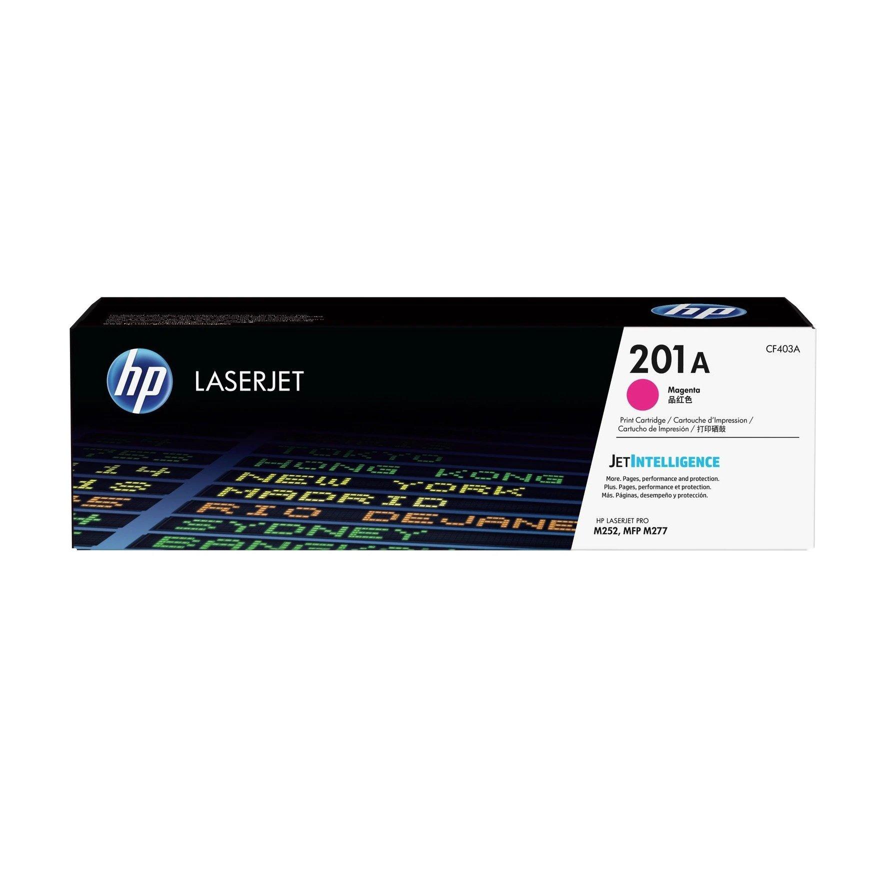 Hewlett Packard [HP] 201A LaserJet Toner Cartridges Page Life 1400pp Magenta Ref CF403A