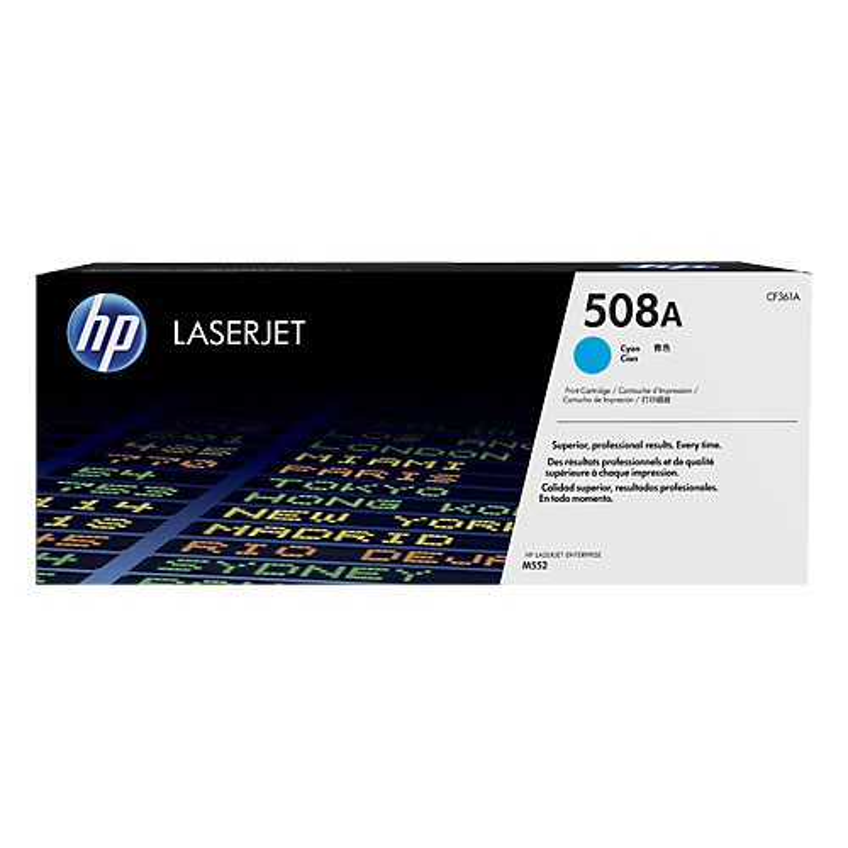 Hewlett Packard [HP] 508A LaserJet Toner Cartridge Page Life 5000pp Cyan Ref CF361A