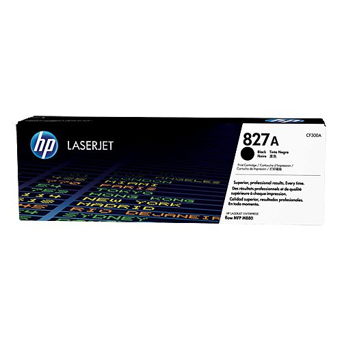 HP No.827A Toner Cartridge Black CF300A