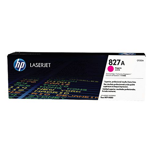 HP No.827A Toner Cartridge Magenta CF303A