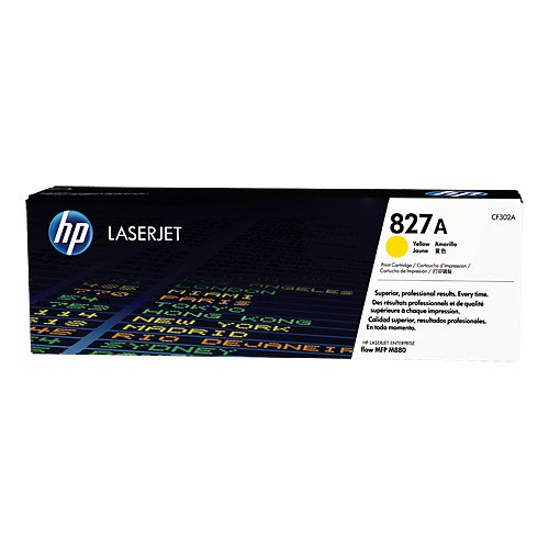 HP No.827A Toner Cartridge Yellow CF302A