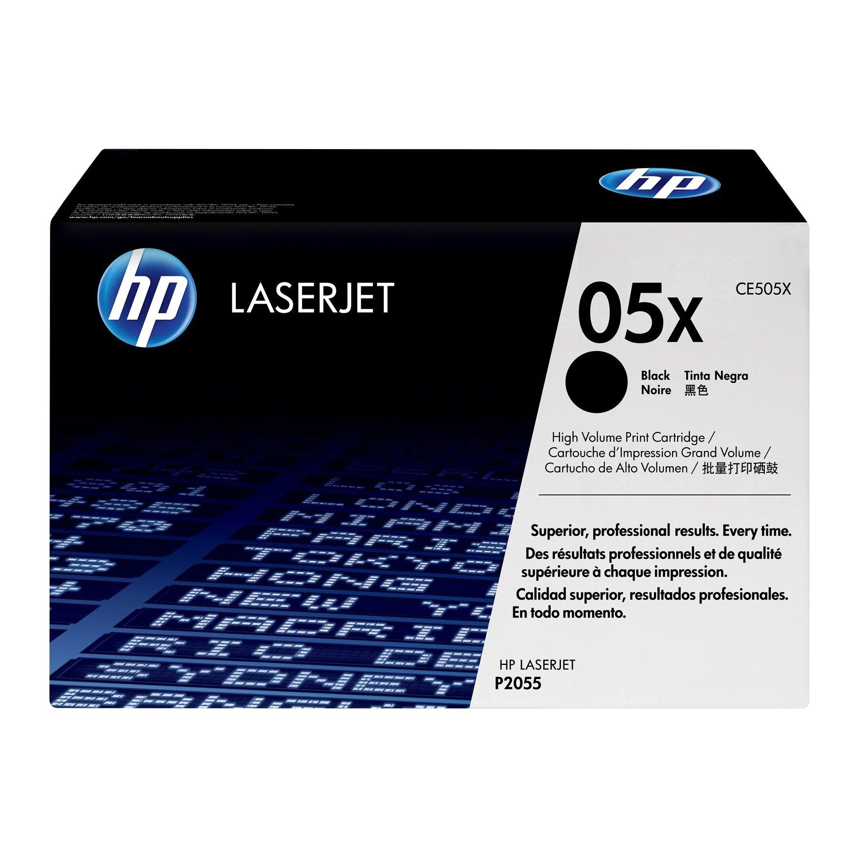 HP No.05X Toner Cartridge High Capacity Black CE505X