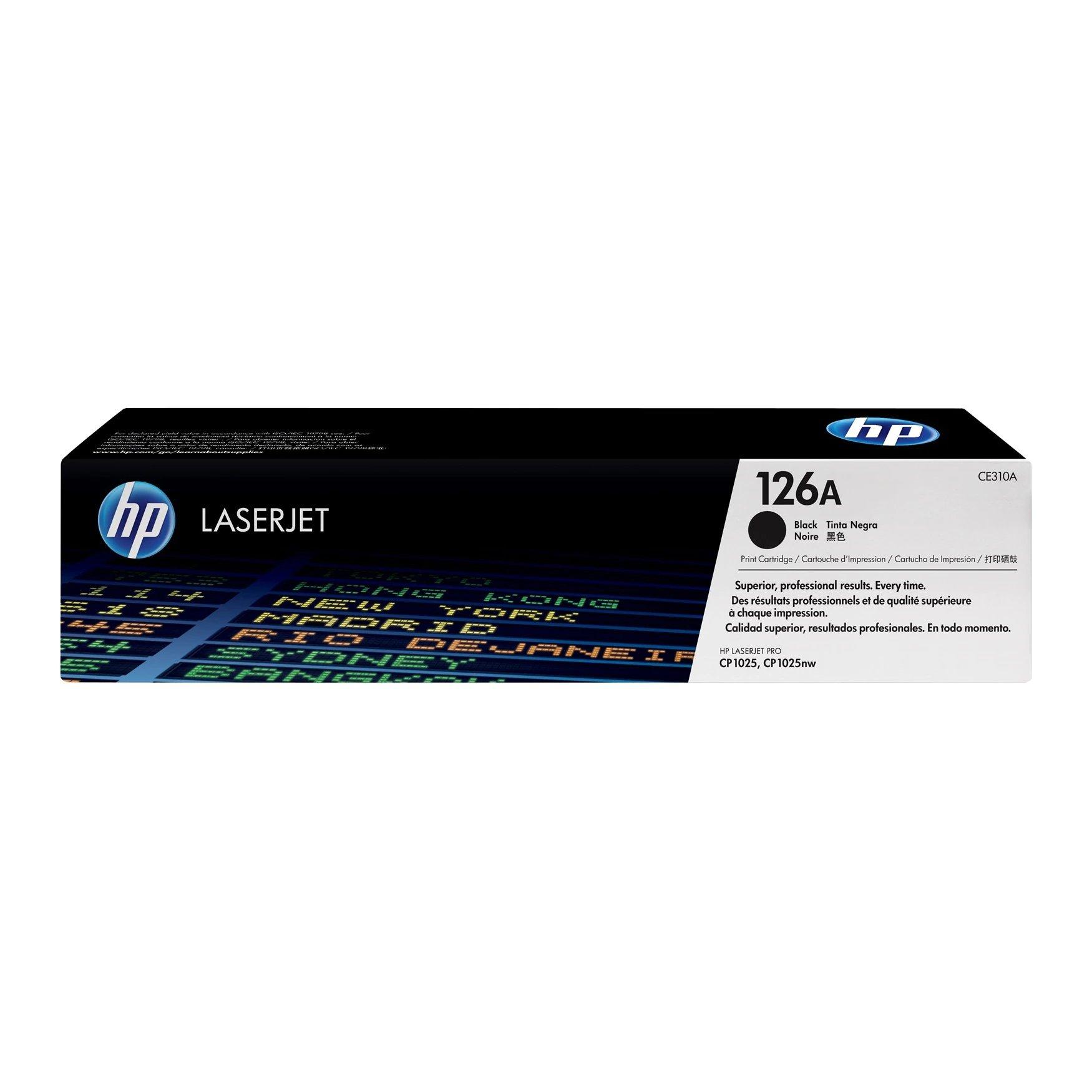 HP No.126A Toner Cartridge No.126A Black CE310A