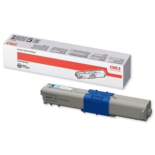 OKI Toner Cartridge Cyan 44469706