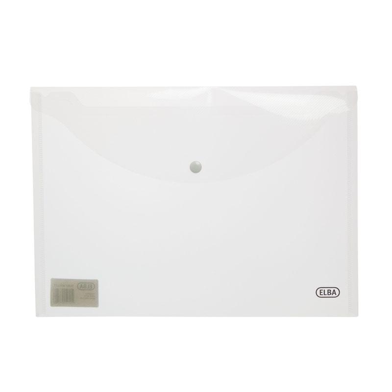 Elba SNAP Wallets A4 Clear 100080924