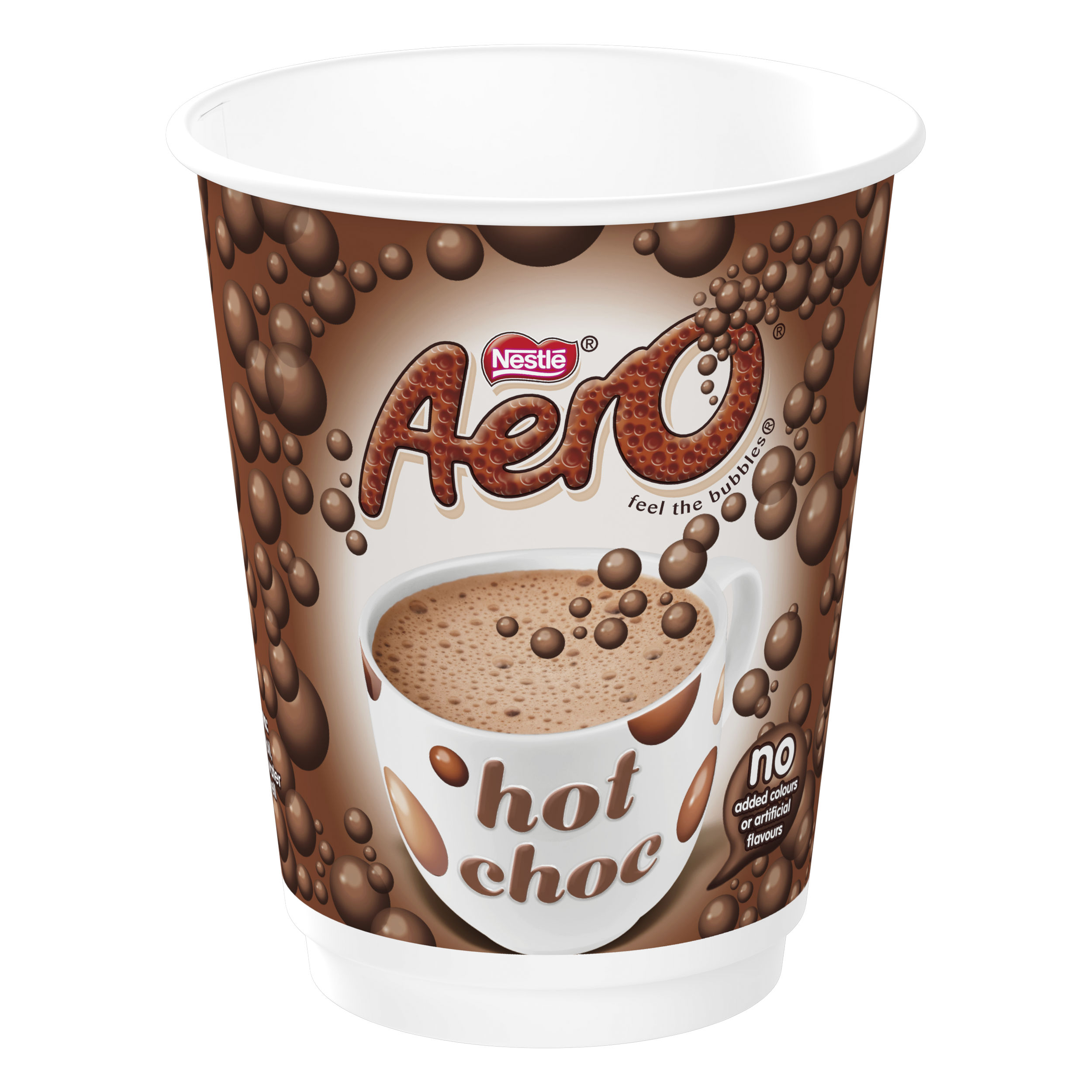 Nescafe & Go Aero Hot Chocolate Foil-sealed Cup for Drinks Machine Ref 12367662 [Pack 8]