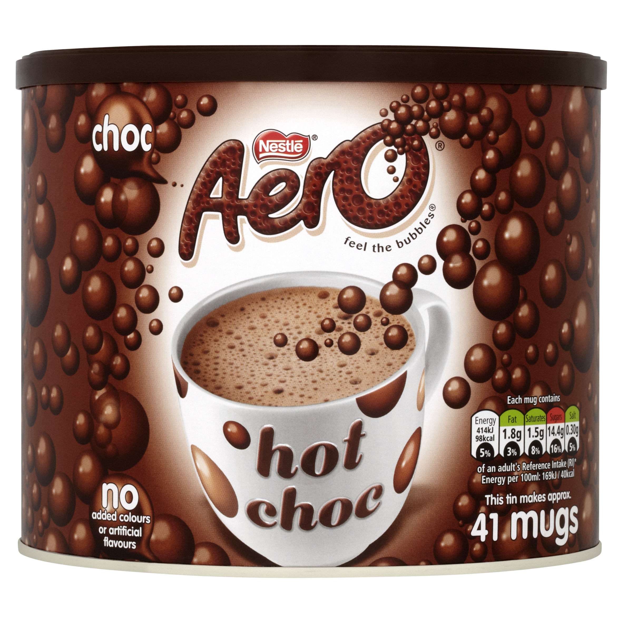 Aero Hot Chocolate 42 Servings Tub 1kg Ref 12281504