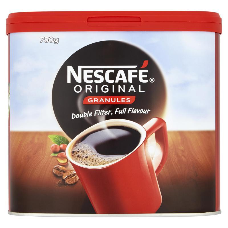 Coffee Nescafe Original Instant Coffee 750g (Pack 6)