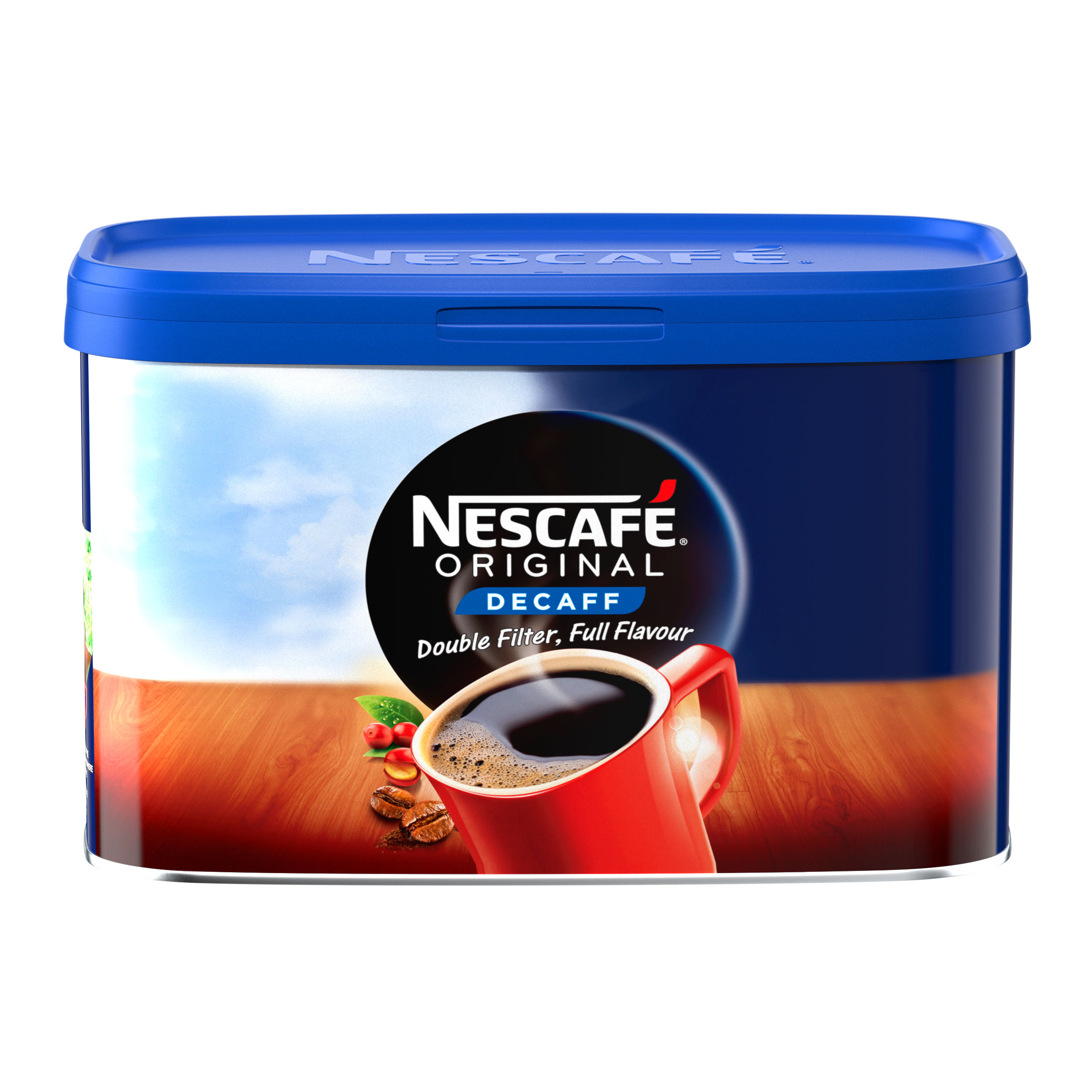 Nescafe Original Decaffeinated Coffee 500g Tin Ref 12315569