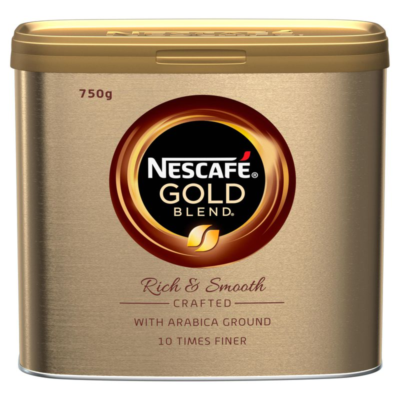 Coffee Nescafe Gold Blend Instant Coffee 750g (Pack 6)