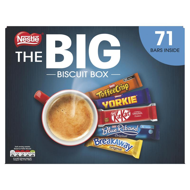 Biscuits Nestle Big Biscuit Box Assorted Biscuits