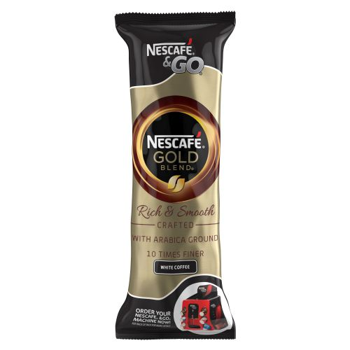 NESCAFE & GO Gold Blend White Coffee (8)