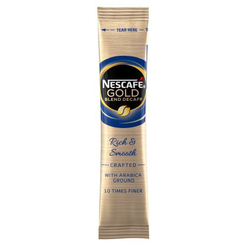 NESCAFE GOLD BLEND Decaffeinated Coffee Granules Sticks (200)