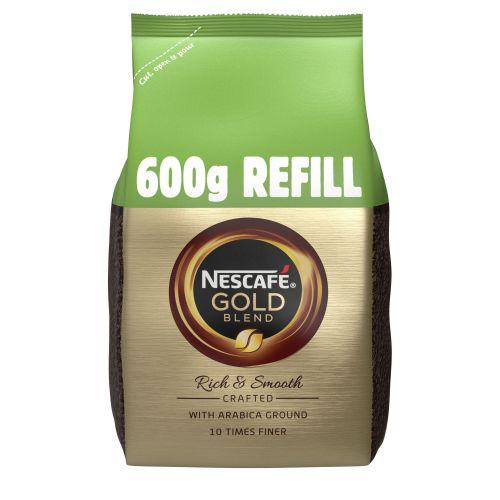 NESCAFE GOLD BLEND Coffee Granules 600g Refill