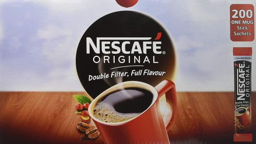 NESCAFE Original Coffee Granules Sachets (200)