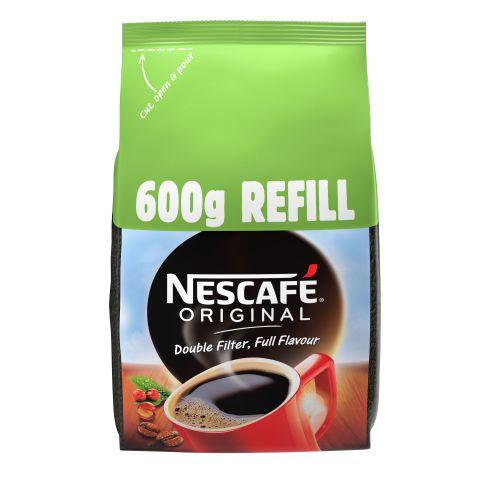 NESCAFE Original Coffee Granules 600g Refill