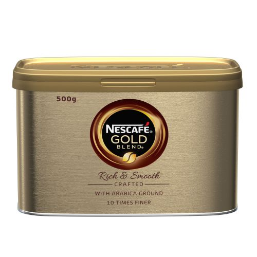 Nescafe Gold Blend Instant Coffee Tin 500g Ref 12339246